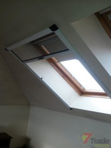 Moskitiery okienne dachowe