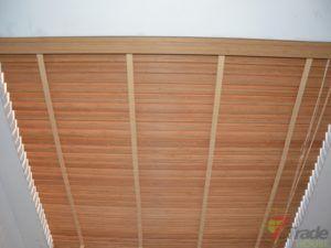 żaluzje bambusowe jasny brąz