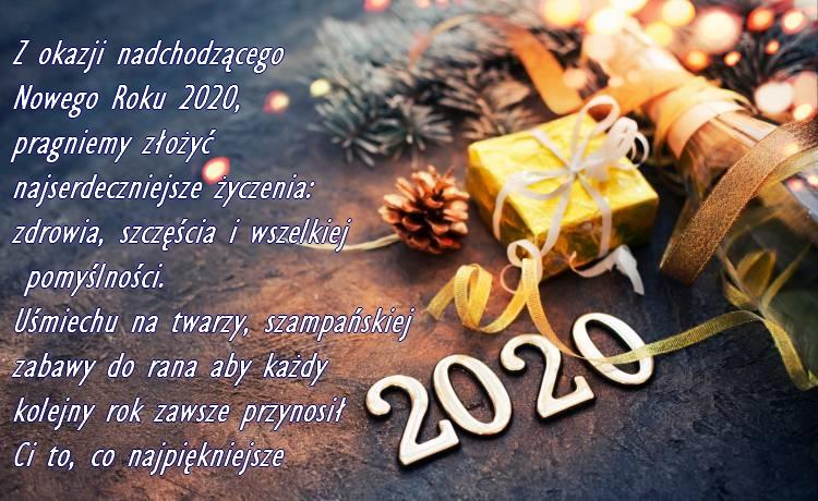 Życzenia nowy rok 2020